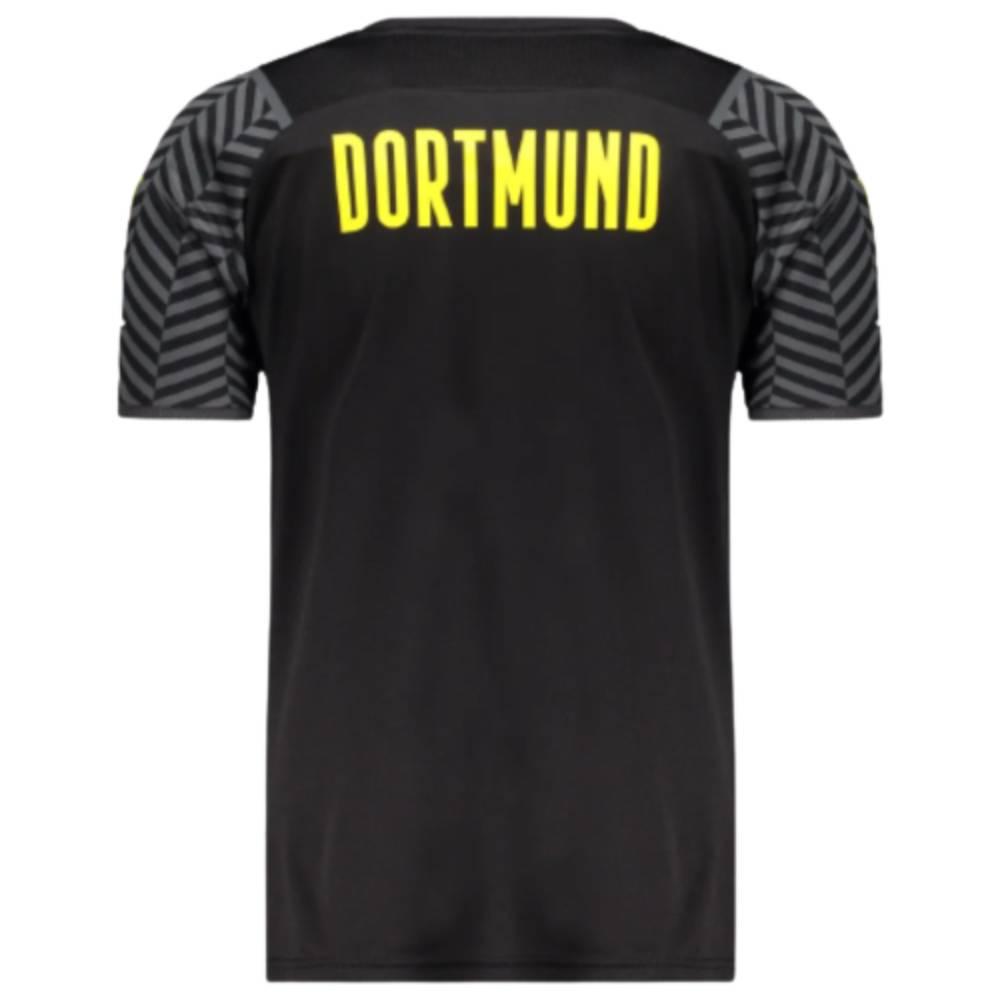 Camisa Oficial Borussia Dortmund II 21/22 Masculino Preto