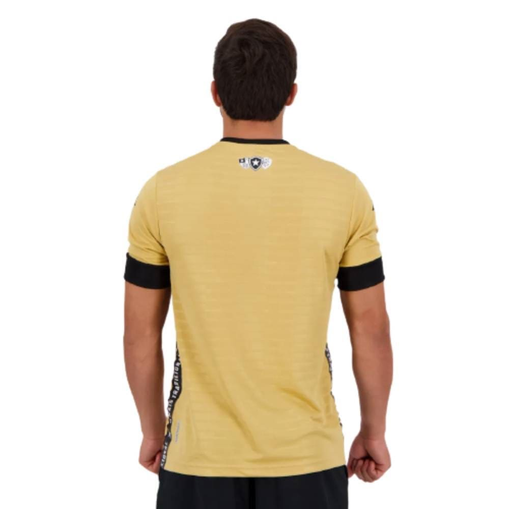Camisa Oficial Botafogo Goleiro III 21/22 Masculino Dourado