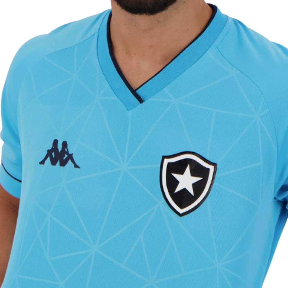 Camisa Oficial Botafogo IV 21/22 Masculino Azul Celeste