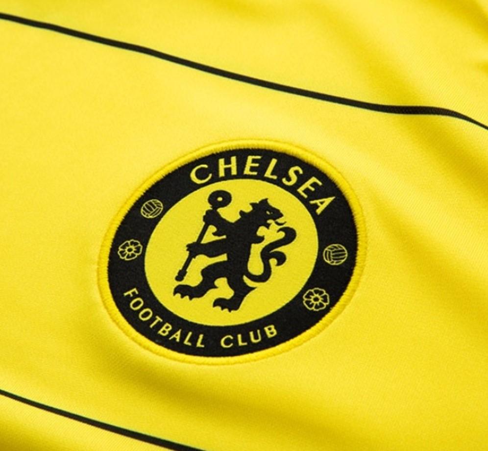 Camisa Oficial Chelsea III 21/22 Masculino Amarelo Preto