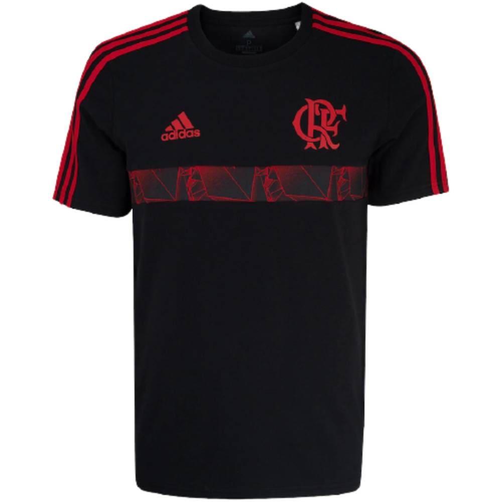 Camisa Oficial Flamengo Icon 21/22 Masculino Vermelho Preto