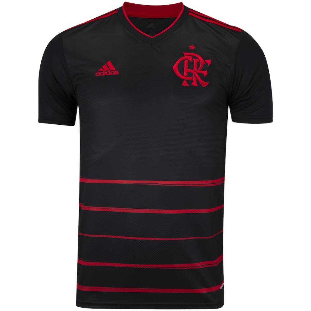 Camisa Oficial Flamengo III 20/21 Patrocínio Masculina