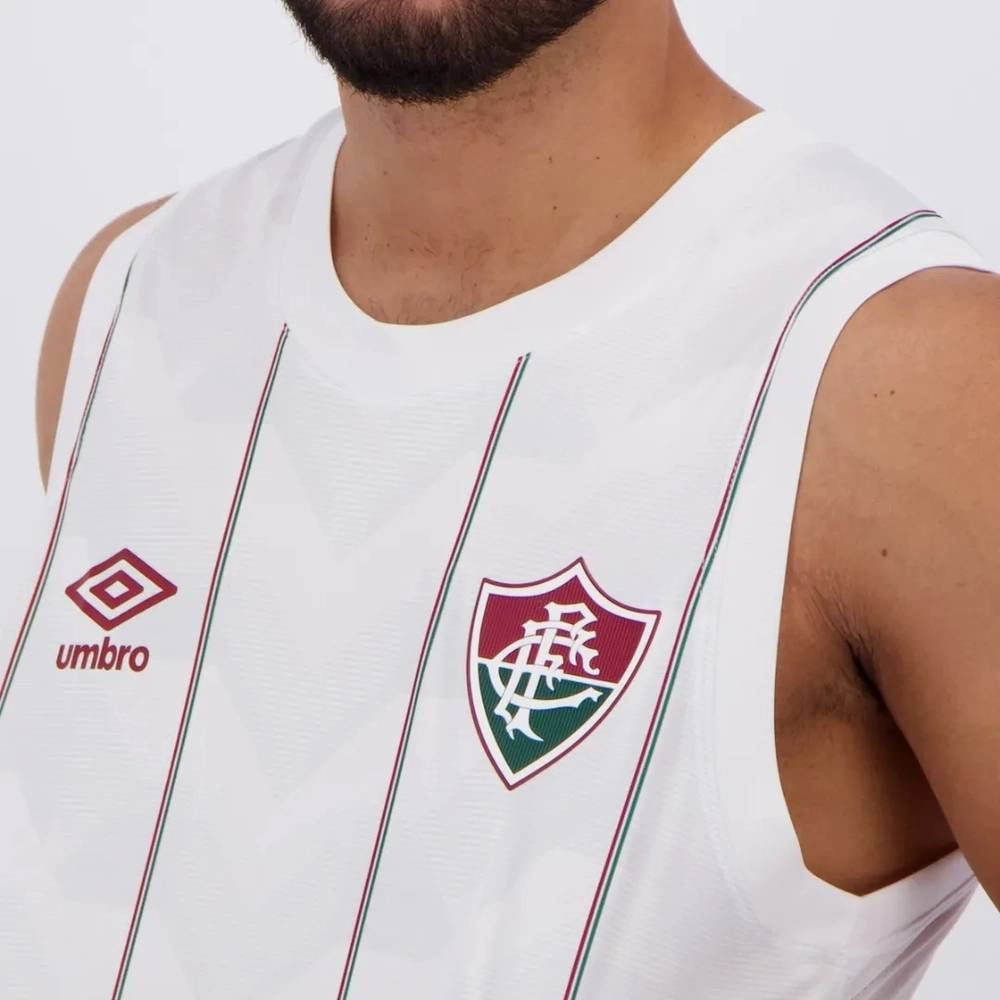 Regata Oficial Fluminense Basquete ll 20/21 Masculino Branca