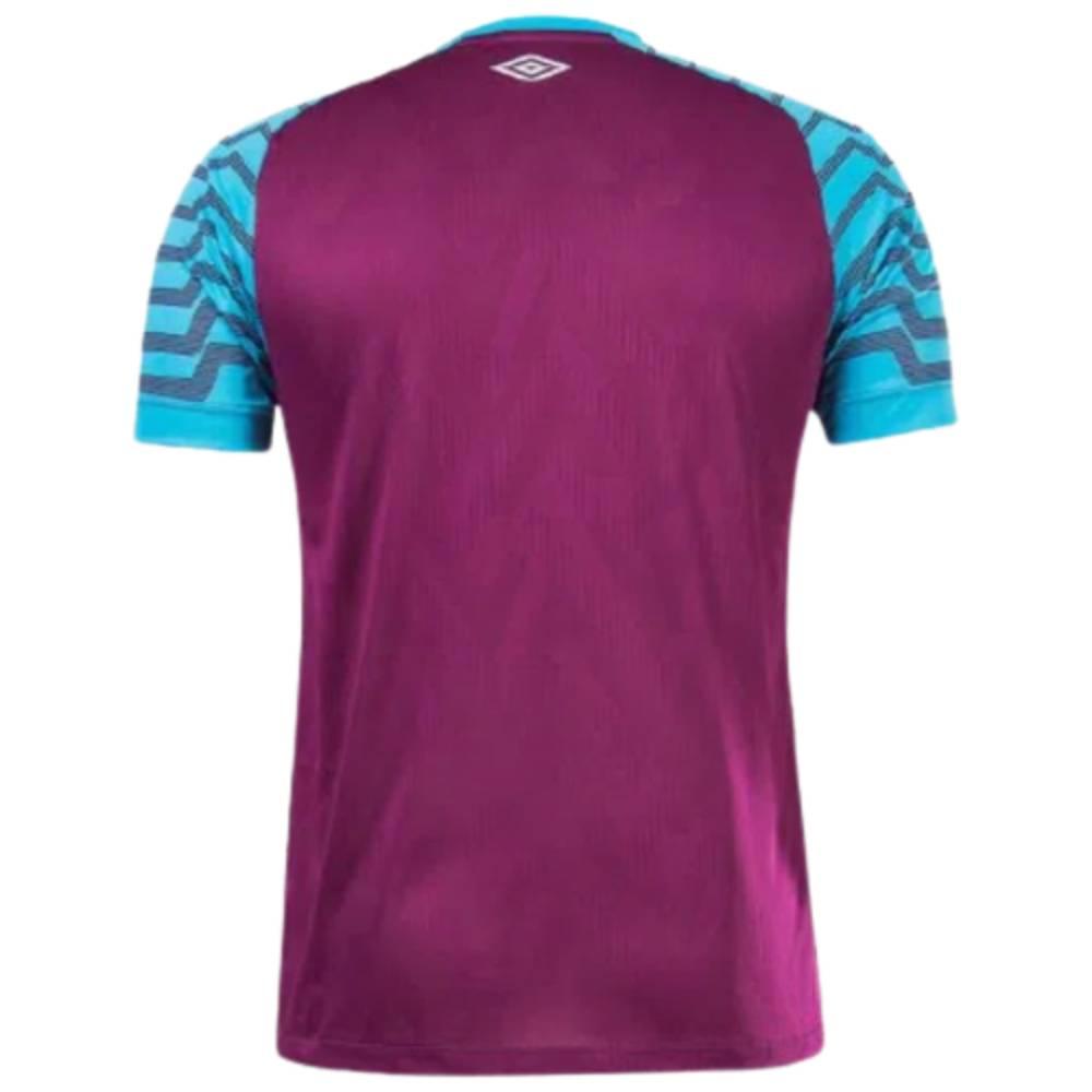 Camisa Oficial Fluminense Goleiro 21/22 Masculino Roxo Azul