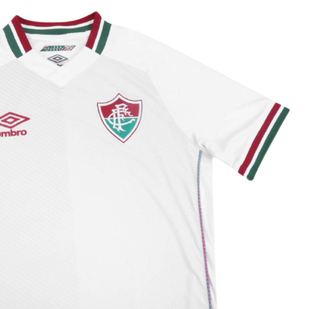 Camisa Oficial Fluminense II 21/22 Juvenil Branco