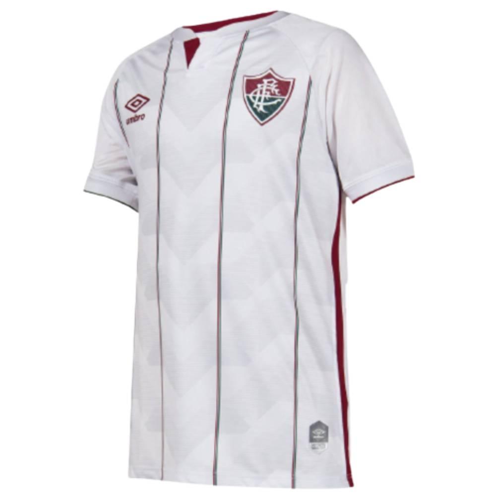 Camisa Oficial Fluminense II 20/21 Juvenil Branco