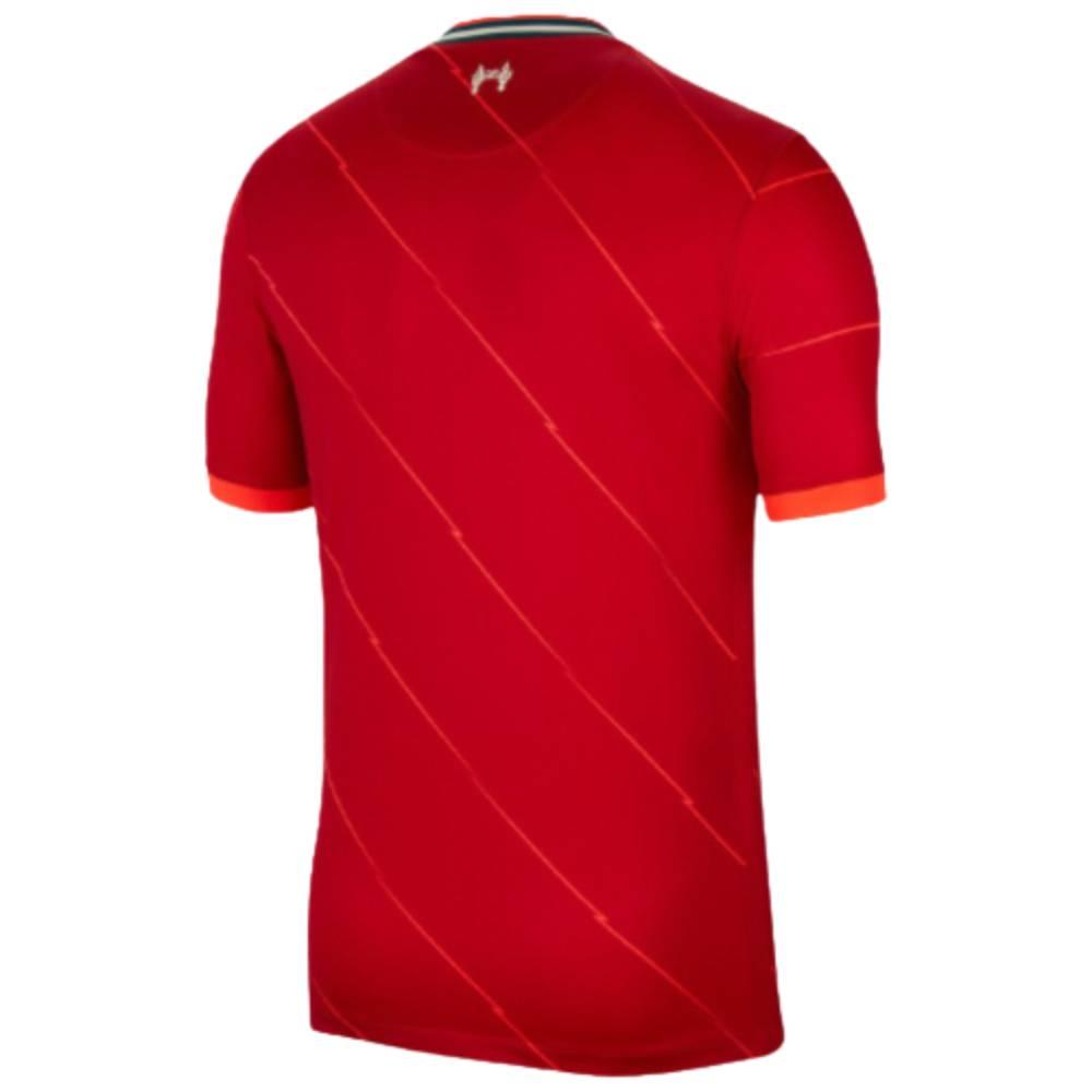 Camisa Oficial Liverpool 21/22 Masculino Vermelho
