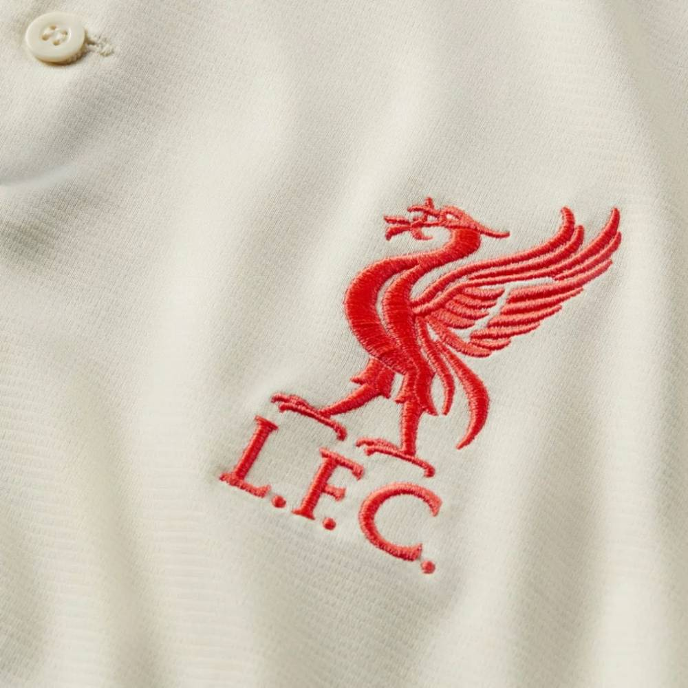Camisa Oficial Liverpool II 21/22 Masculino Off White