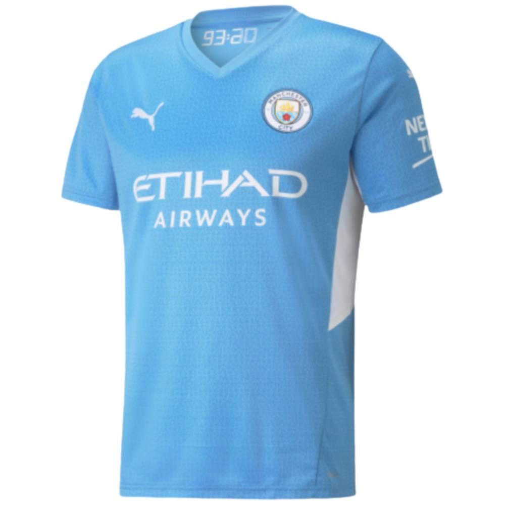 Camisa Oficial Manchester City I 21/22 Azul