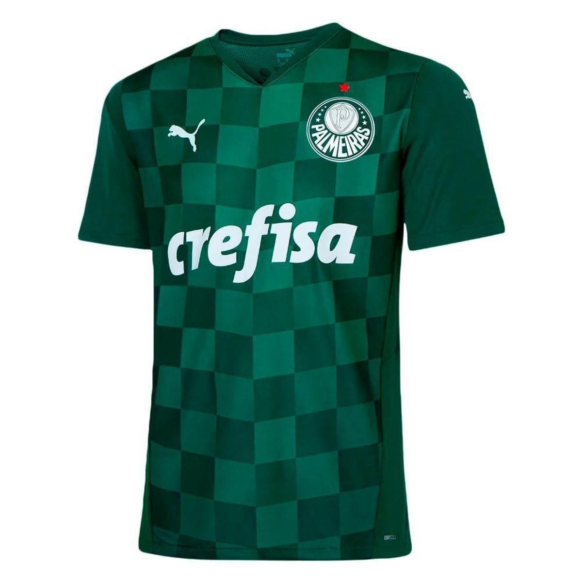Camisa Oficial Puma Palmeiras I 20/21 Masculino Verde