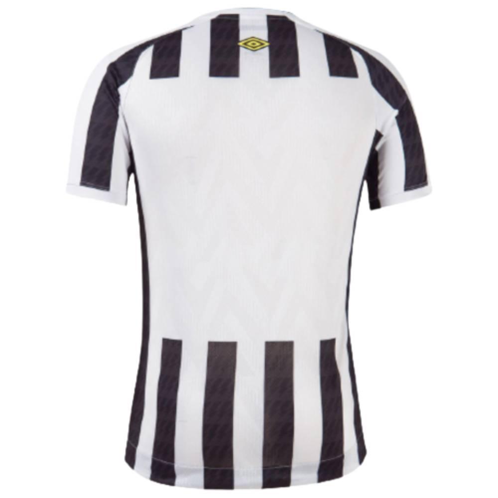 Camisa Oficial Santos II 21/22 Masculino Branco Preto
