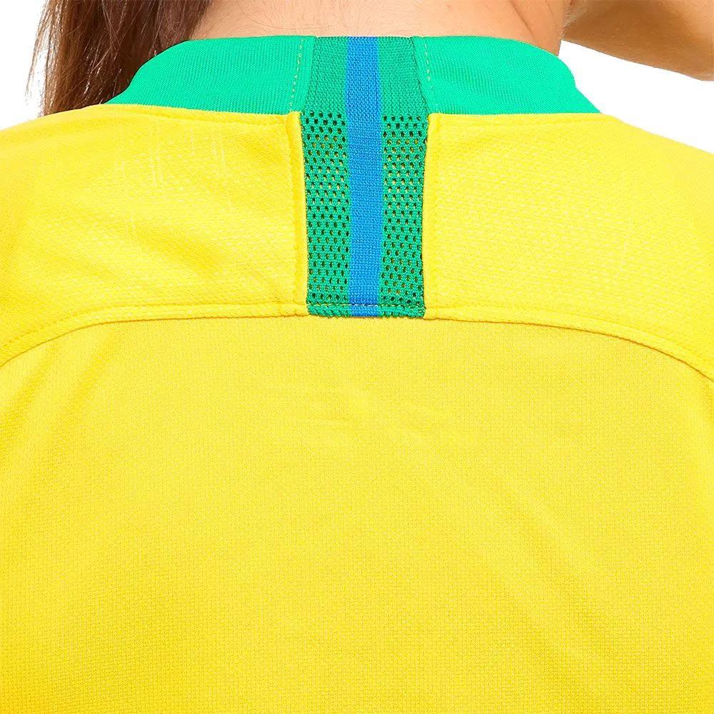 Camisa Oficial Seleção Brasil I 18/19 Amarelo