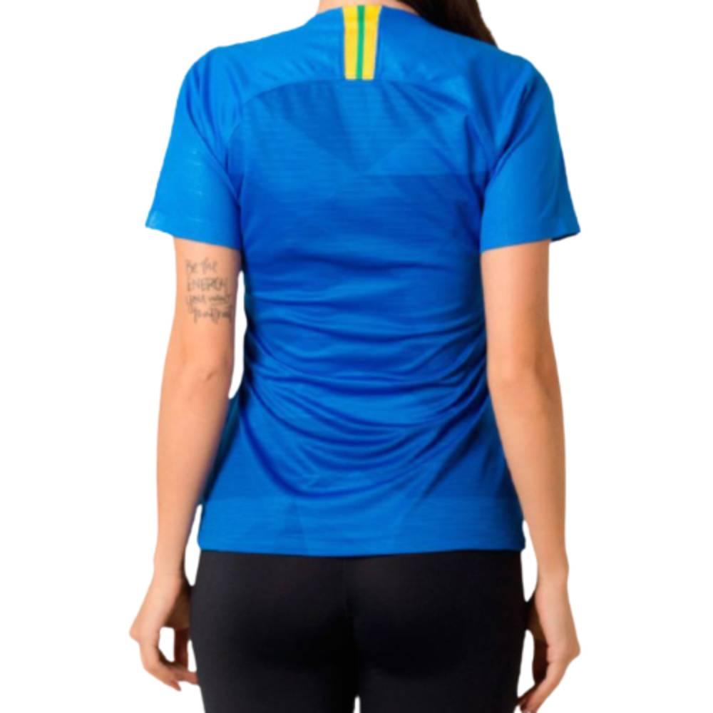 Camisa Oficial Brasil II 18/19 Masculino Azul