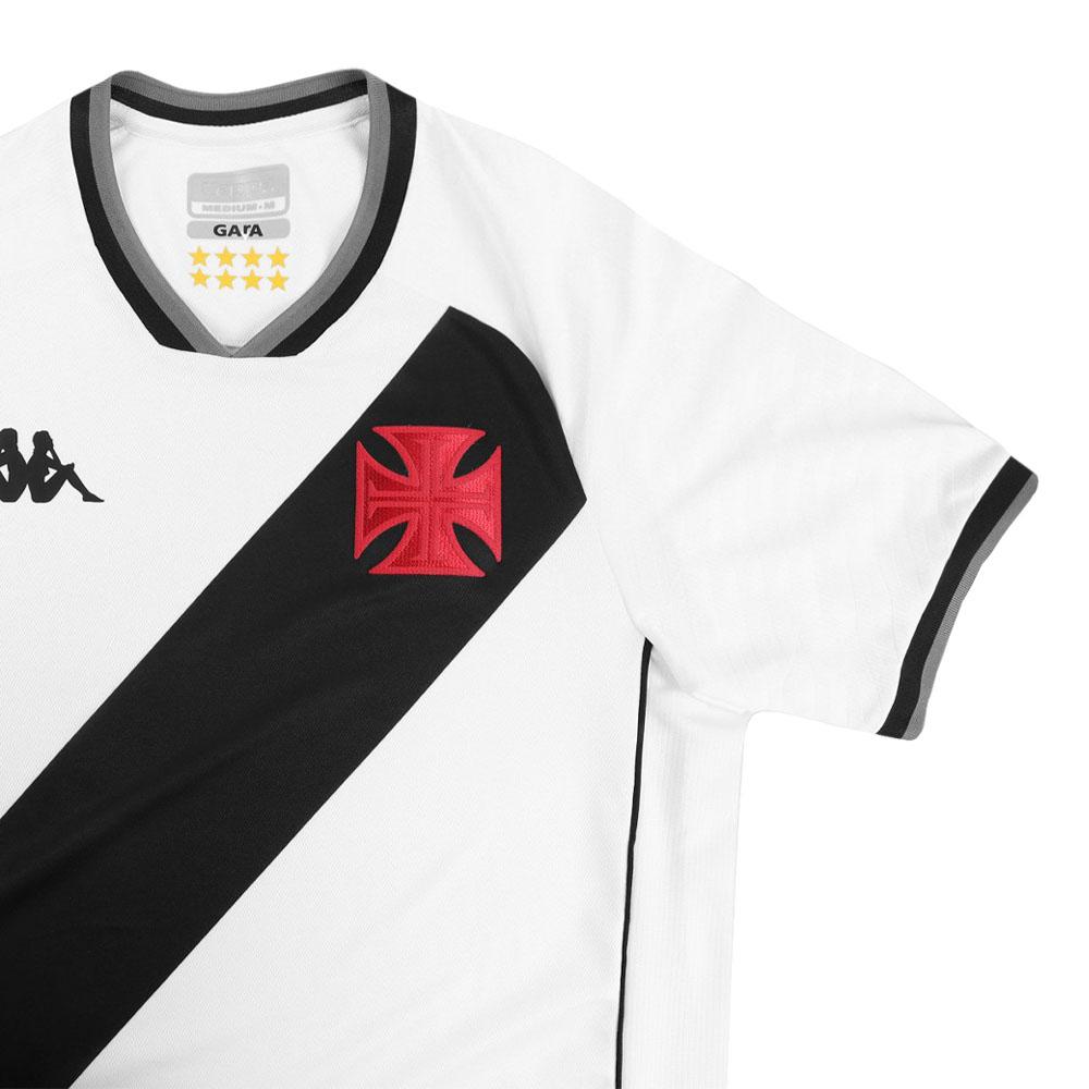 Camisa Oficial Vasco da Gama II 21/22 Masculino Branco Preto