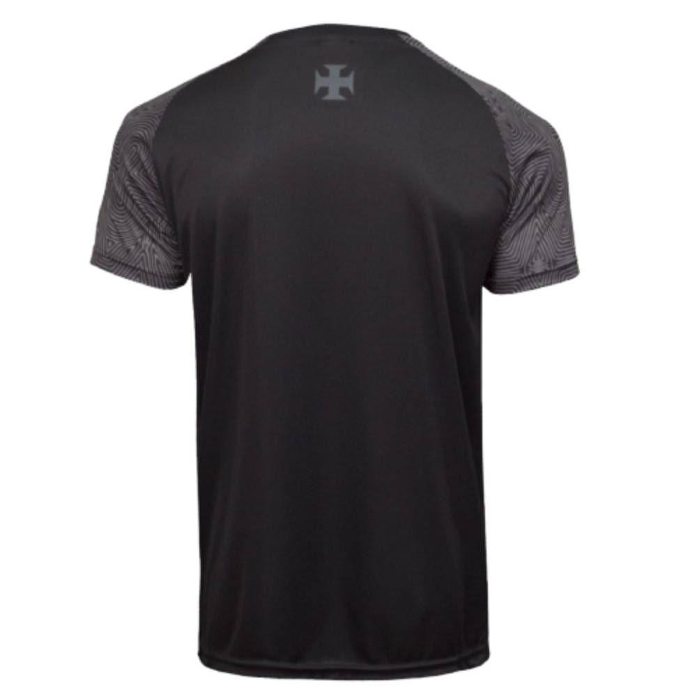 Camisa Oficial Vasco da Gama Respeito e Igualdade 21/22 Plus Size Preto