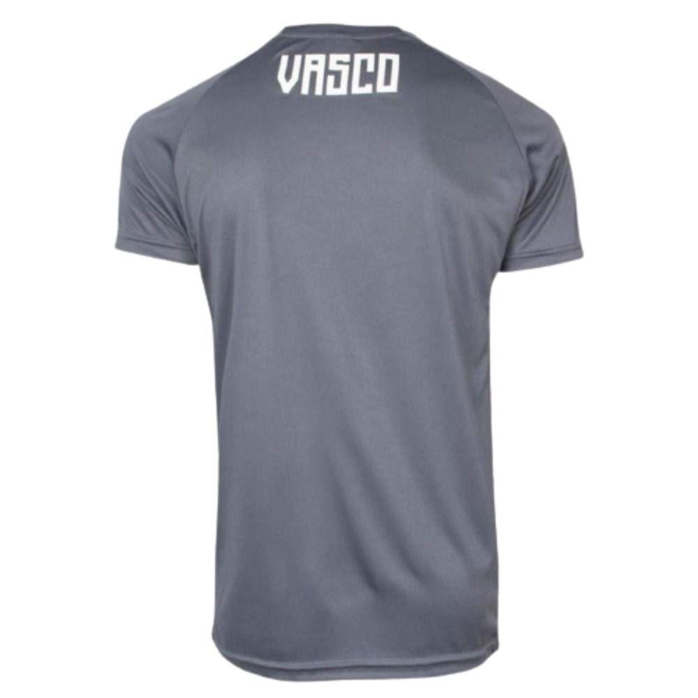 Camisa Oficial Vasco da Gama Treino 20/21 Masculino Azul Cinza