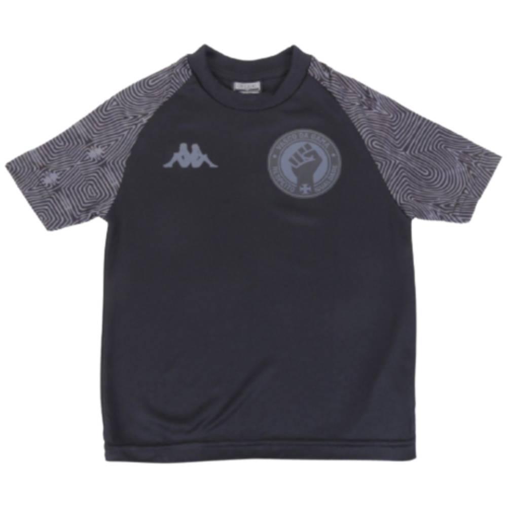 Camisa Oficial Vasco da Gama Respeito e Igualdade 21/22 Infantil Preto