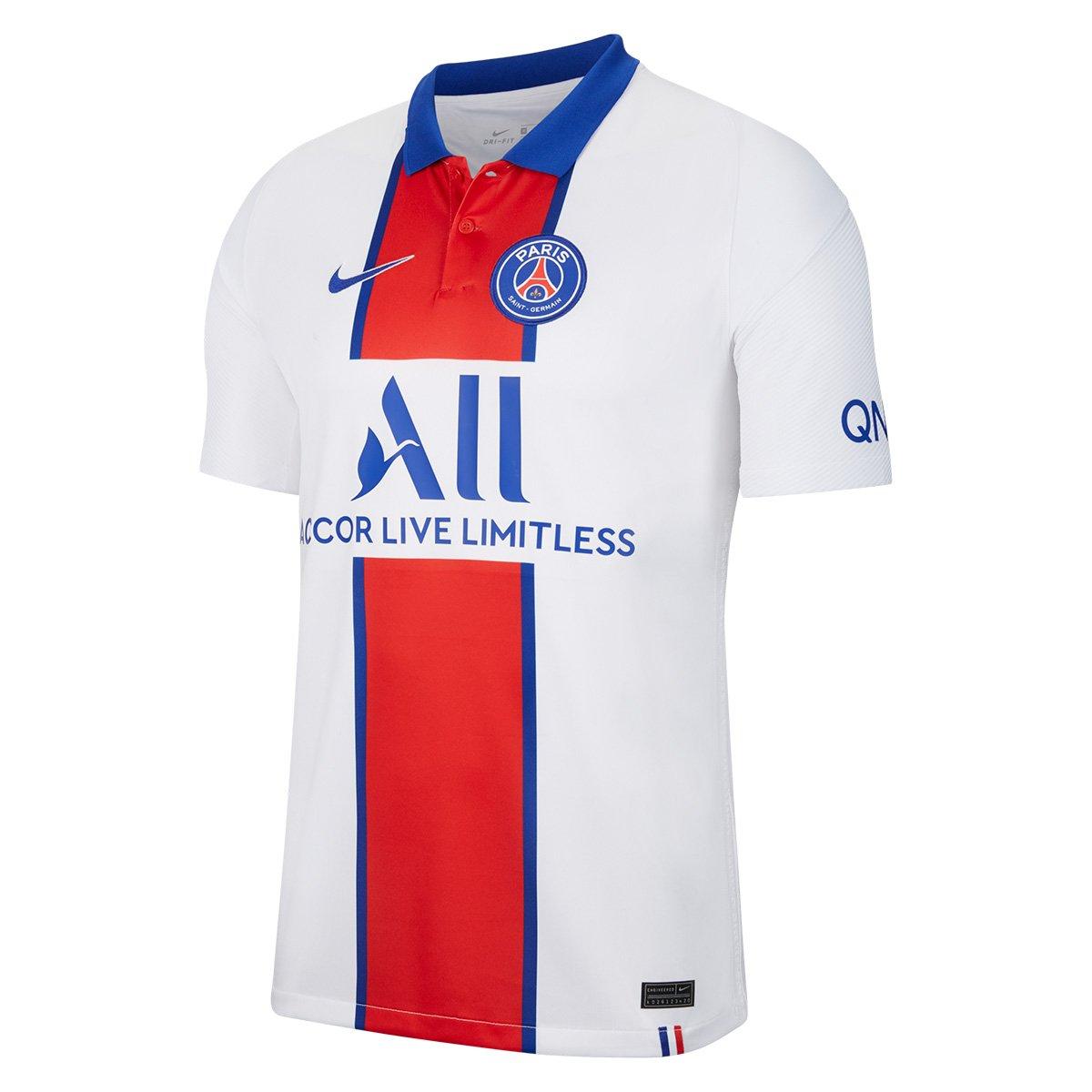 Camisa Oficial Paris Saint-Germain Away 20/21 s/n° Torcedor Nike