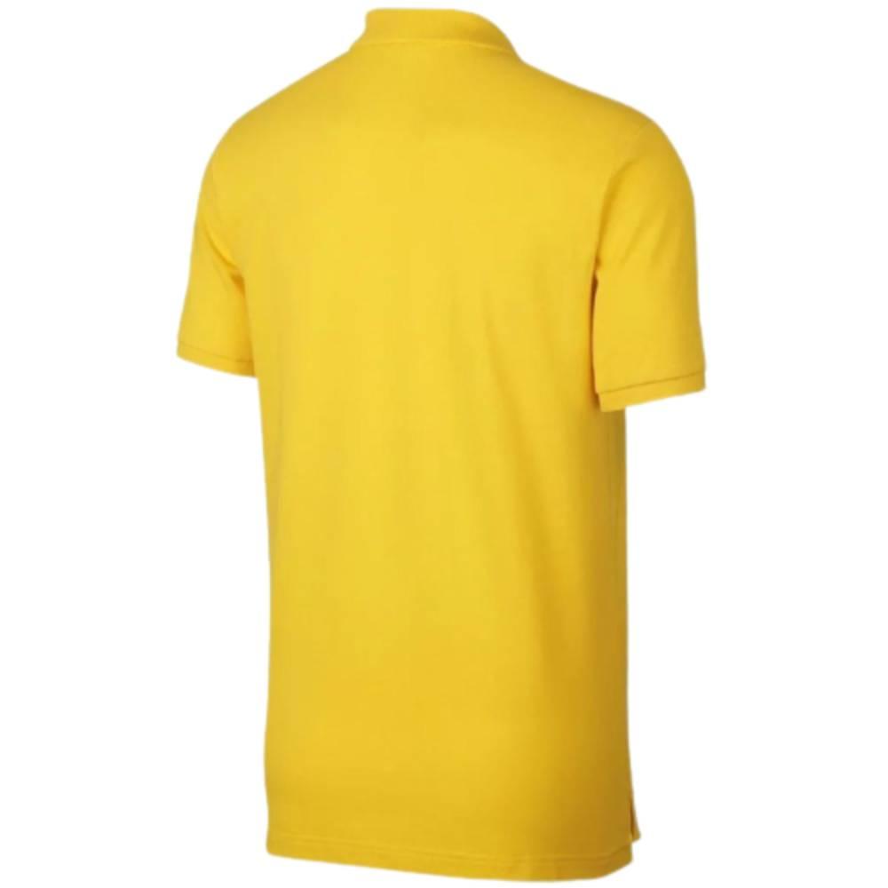 Camisa Oficial Brasil Polo Masculino Amarelo