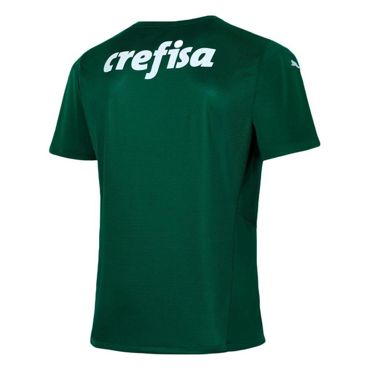 Camisa Oficial PUMA PALMEIRAS I 2021 - Verde
