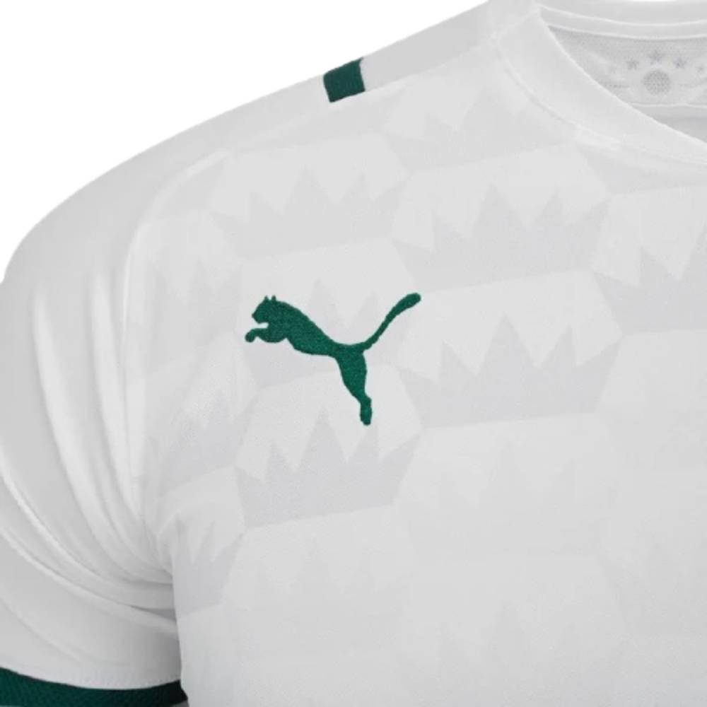 Camisa Puma Palmeiras II 2021 Branco Verde
