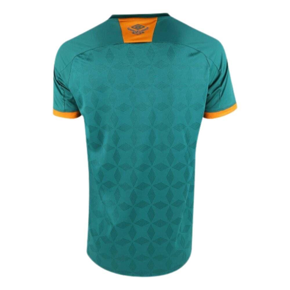 Camisa Oficial Fluminense III 20/21 Infantil Verde Laranja