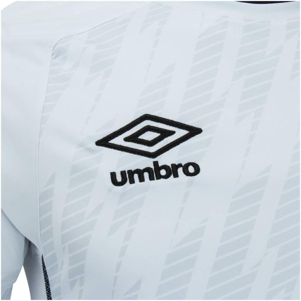 Camisa Umbro Santos I 21/22 Branco Preto