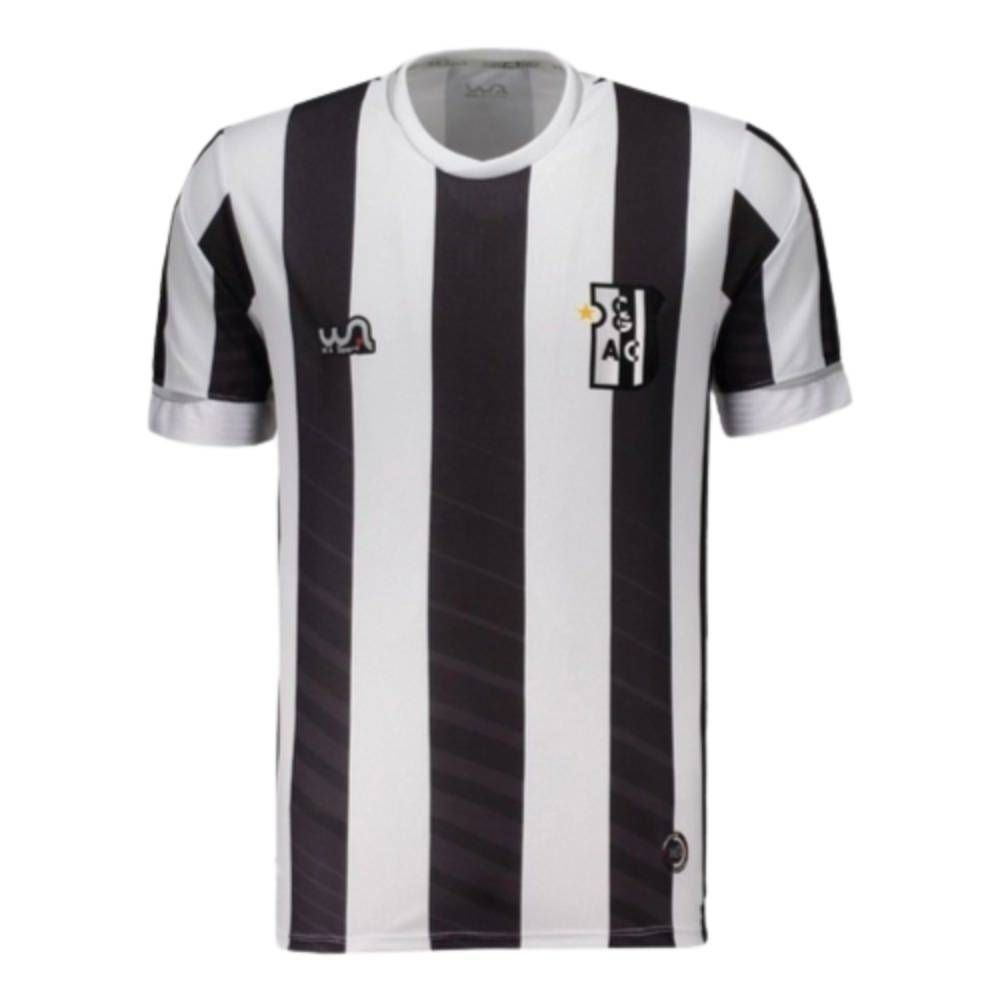 Camisa Oficial Campo Grande I 20/21 Masculino Branco Preto