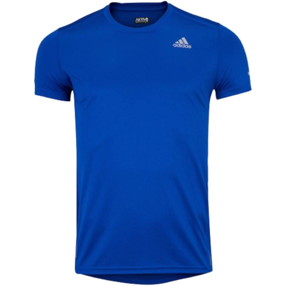 Camiseta Adidas Run It - Azul
