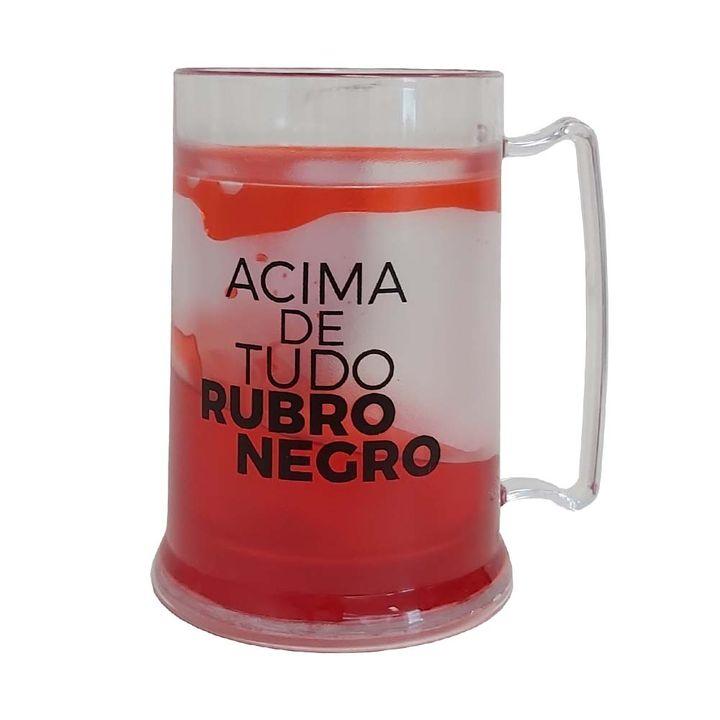 Caneca Flamengo Congelante 300 Ml