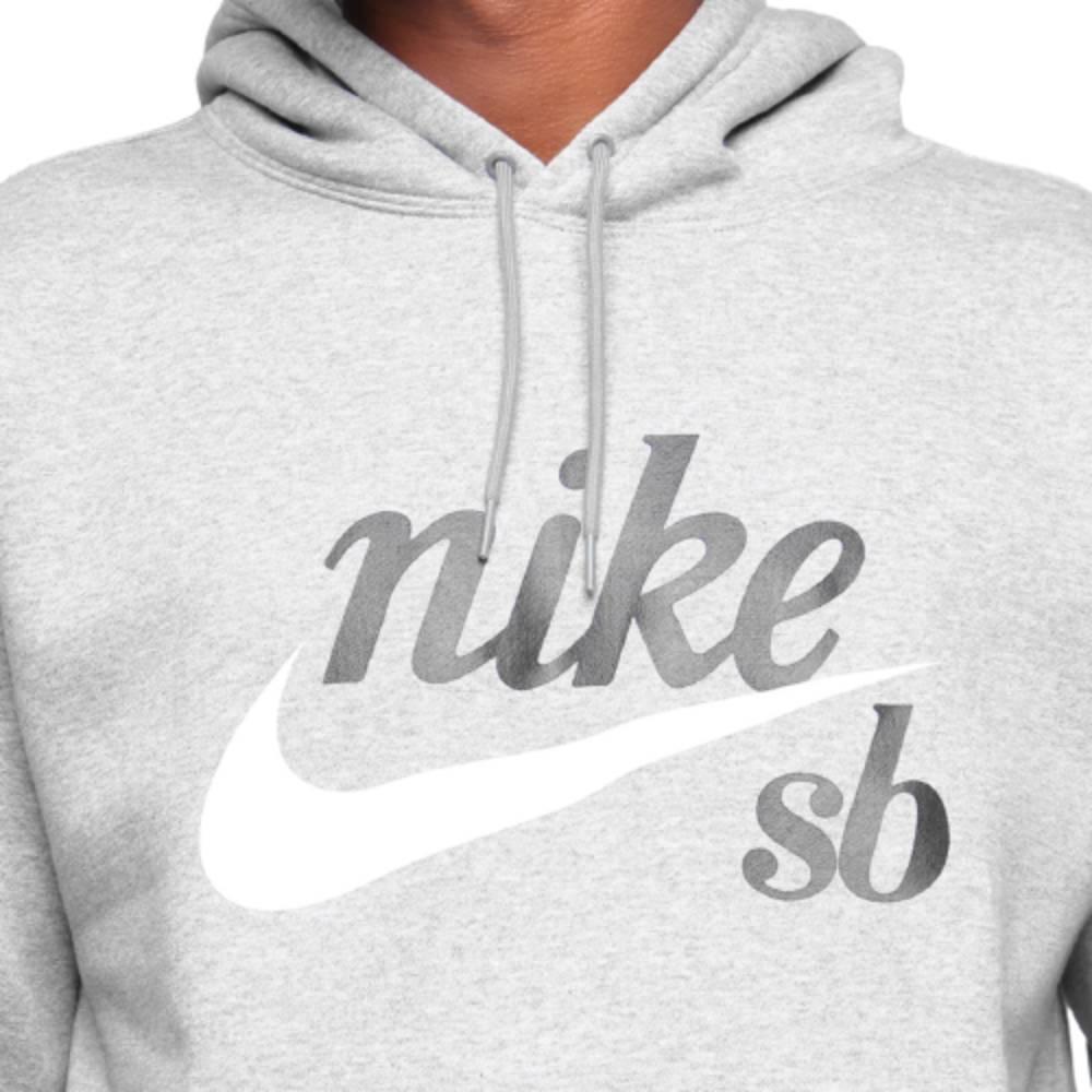 Casaco Moletom Nike SB Crafit Capuz Cinza