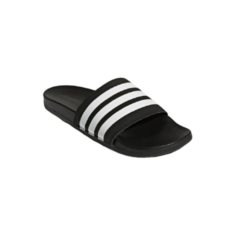 Chinelo Adidas Slide Adilette Comfort Preto Branco