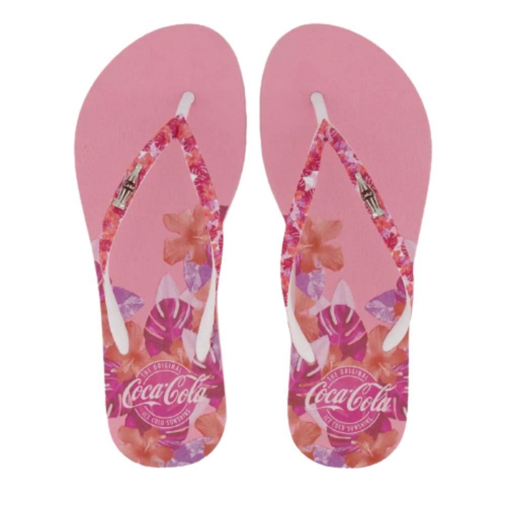 Chinelo Coca Cola Pink Sensation