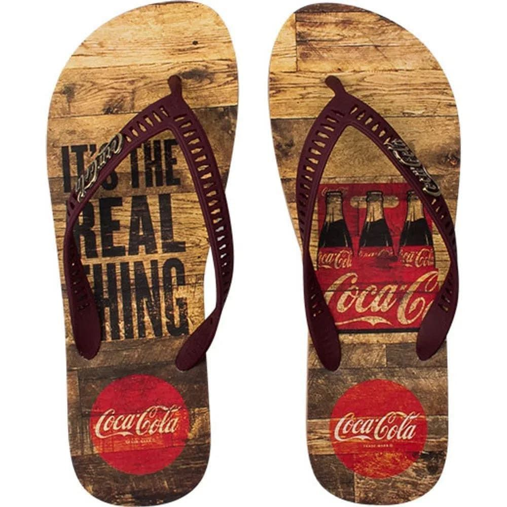 Chinelo Coca-Cola Real Pack
