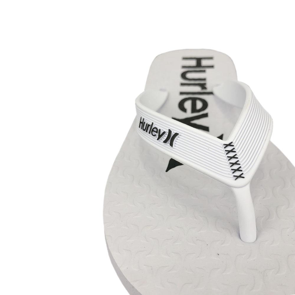 Chinelo Hurley OneeOnly HU0001 Branco Branco