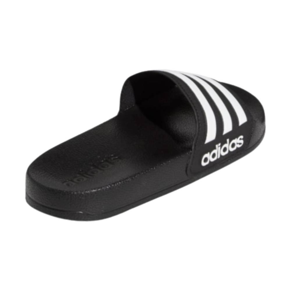 Chinelo Slide Adidas Adilette Shower Infantil Preto Branco