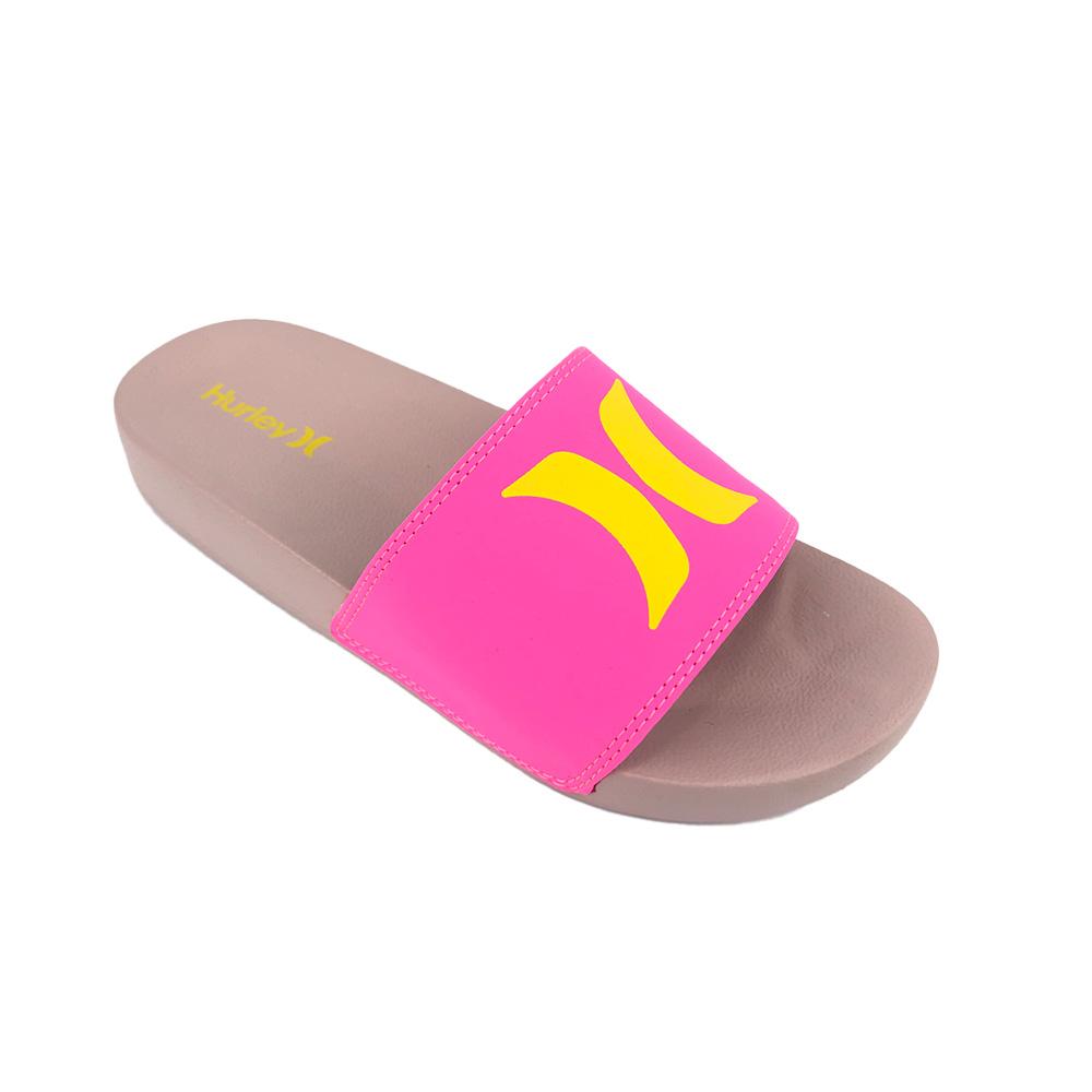 Chinelo Slide Hurley Icon HU0014 Rose Pink