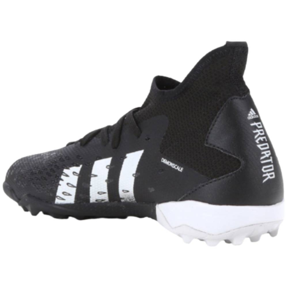 Chuteira Adidas Society Predator Freak 3 Preto Branco