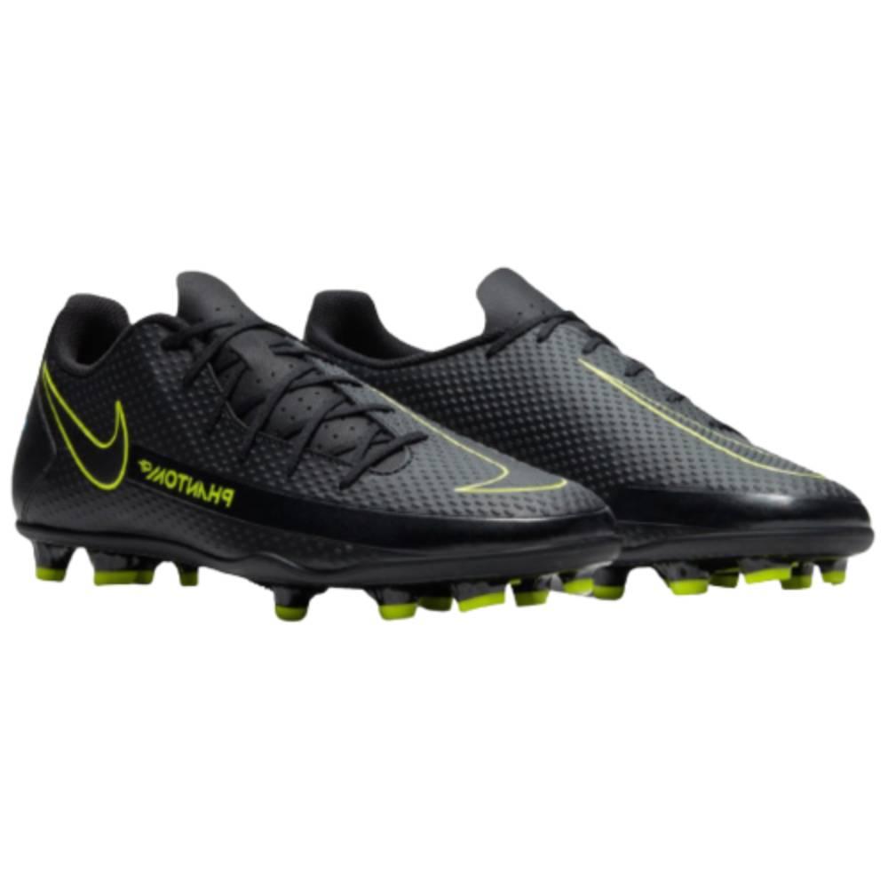 Chuteira Nike Campo Phantom CT Club Preto Verde