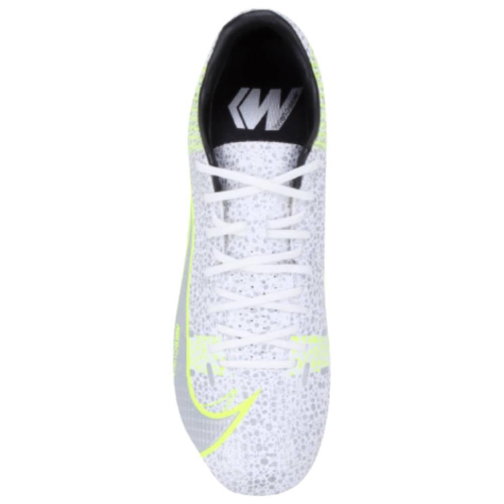 Chuteira Nike Campo Vapor 14 Academy Branco Verde