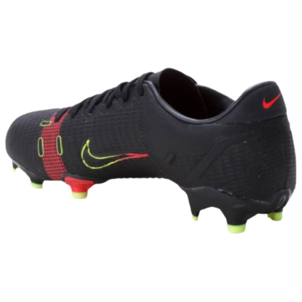 Chuteira Nike Campo Vapor 14 Academy Preto Vermelho Verde