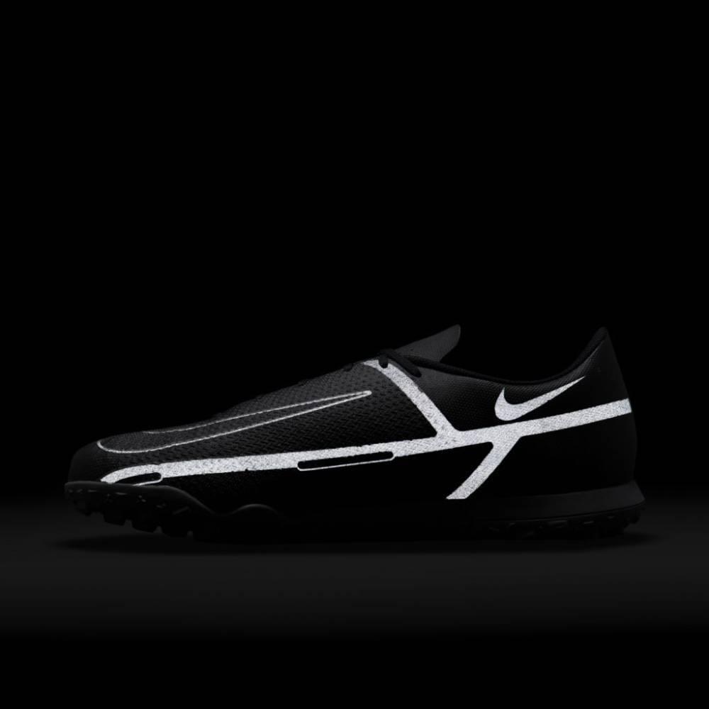 Chuteira Nike Society Phantom GT2 Preto Cinza