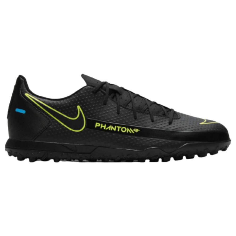 Chuteira Nike Society Phantom GT Club Preto Verde