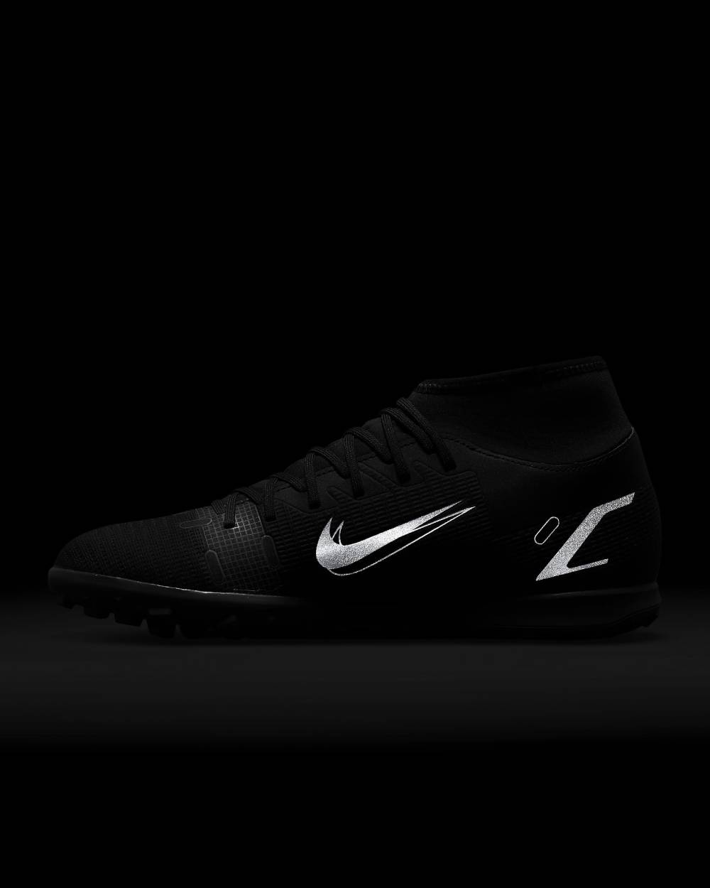 Chuteira Nike Society Superfly 8 Club Preto