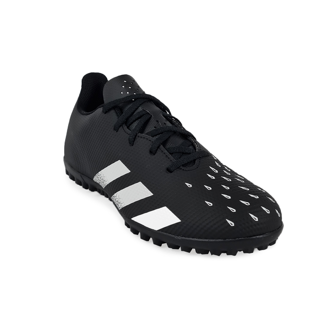 Chuteira Society Adidas Predator Freak 4 Preto Branco