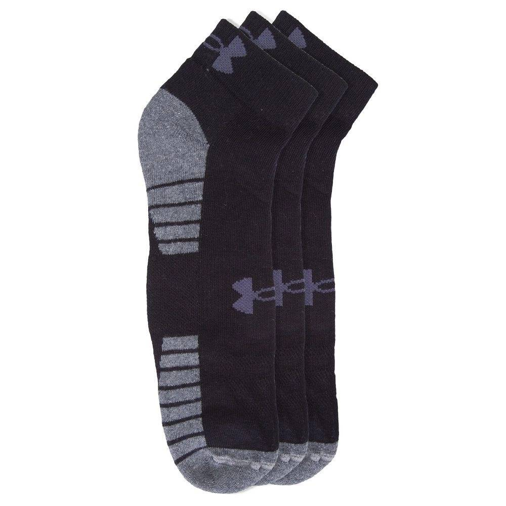 Kit 3 Pares Meia Under Armour Running Fitness Academia