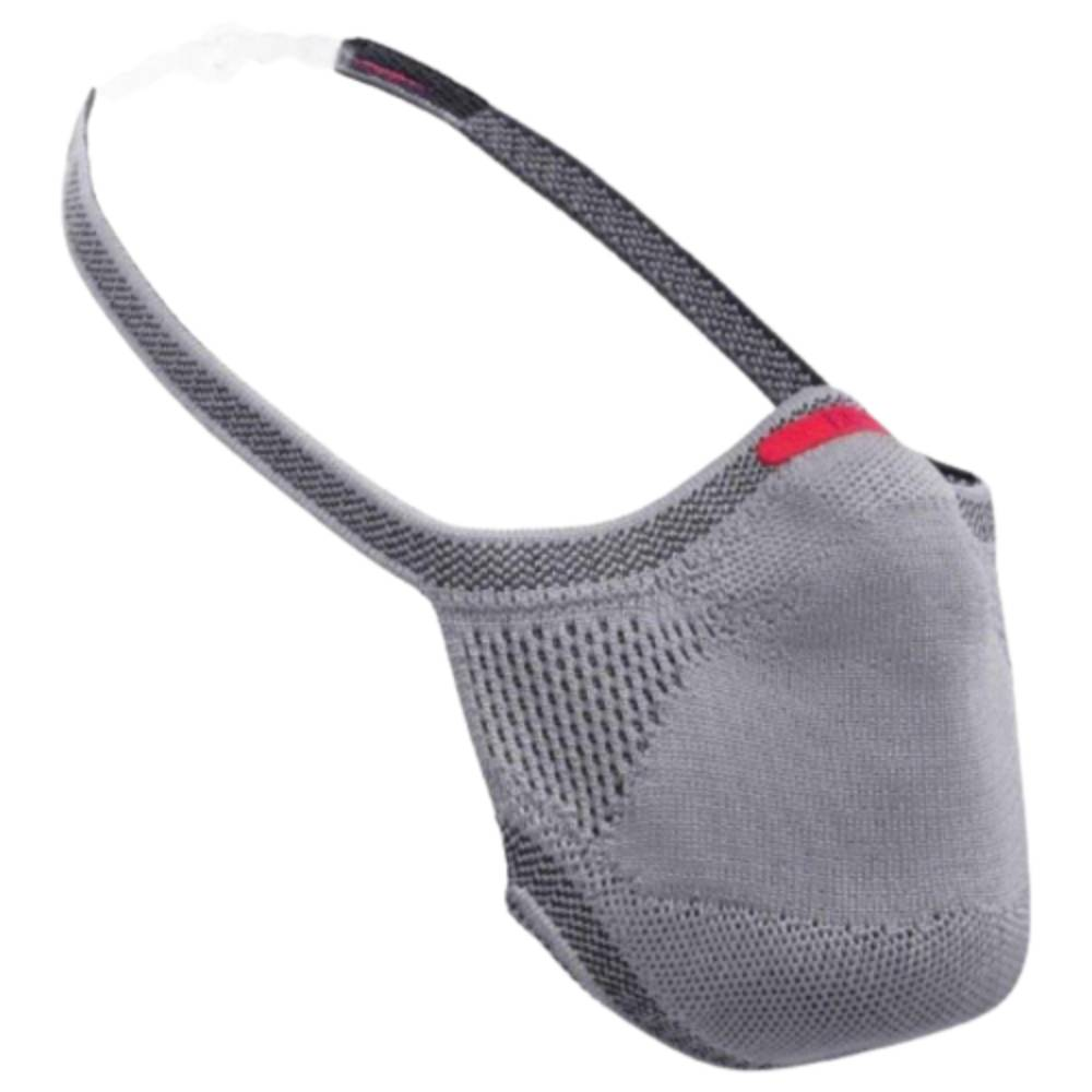 Máscara Fiber Knit Sport 30 Filtros de Proteção+Suporte 3D Cinza