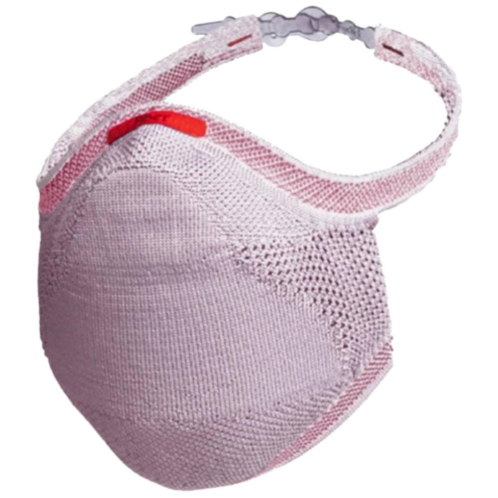 Máscara Fiber Knit Sport 30 Filtros de Proteção+Suporte 3D Rosa Claro