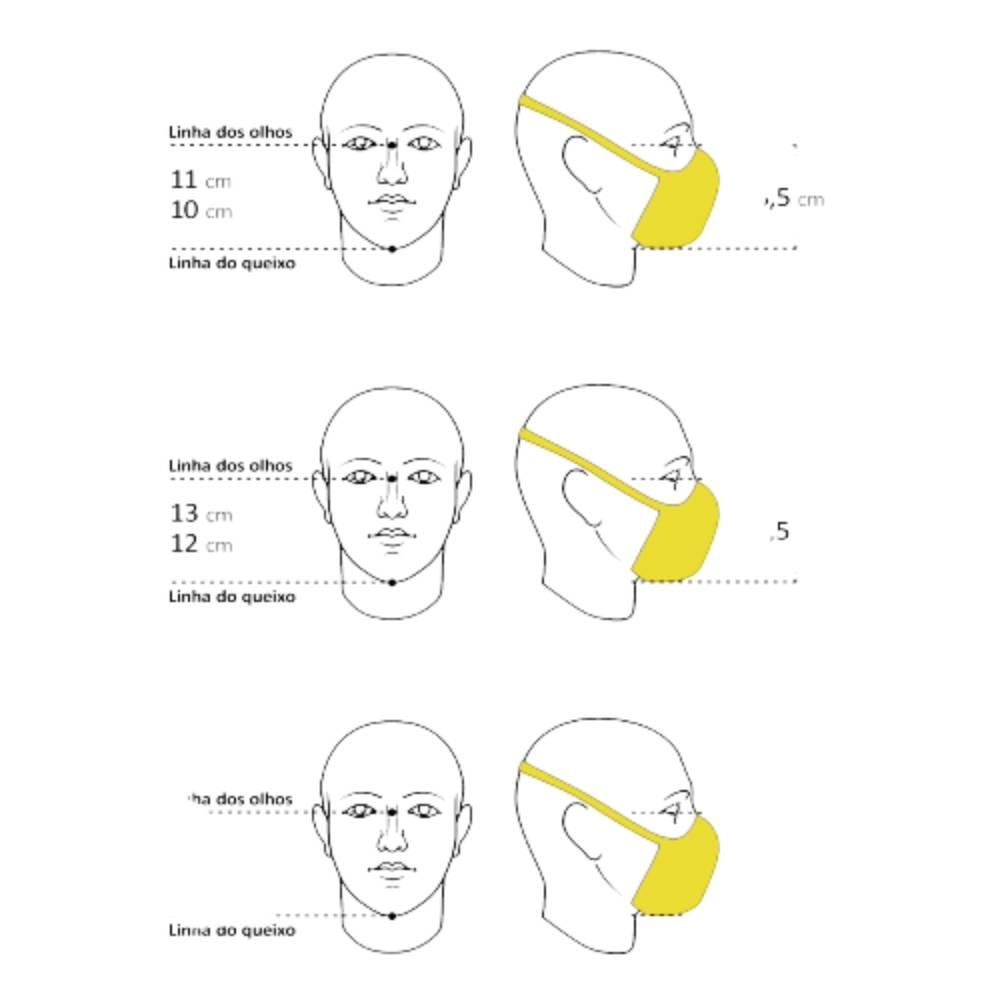 Máscara Fiber Knit Sport Clipe Nasal+Suporte+30filtros Cinza