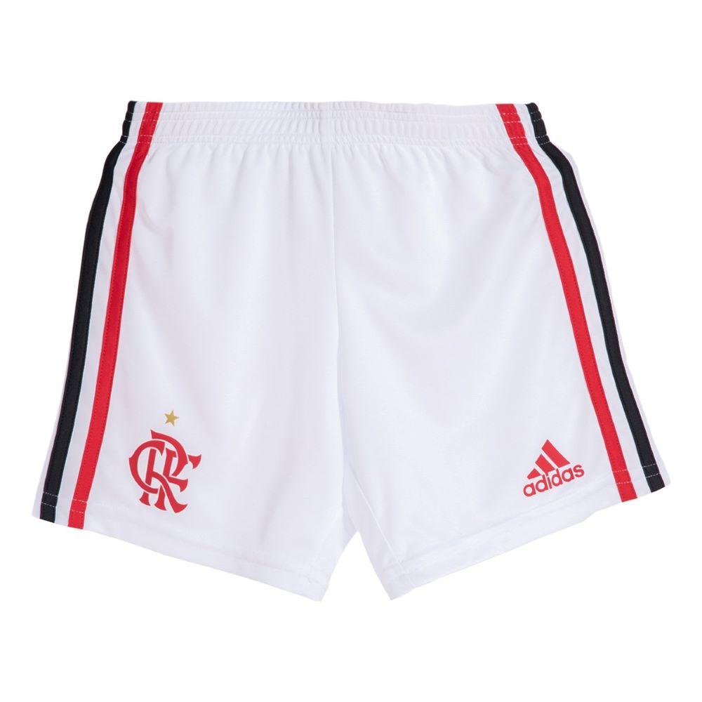 Uniforme Oficial Flamengo I 20/21 Infantil Vermelho Preto